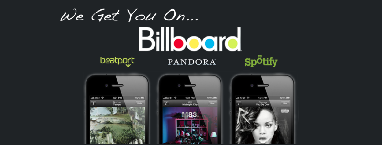 music promotion to billboard and Spotify